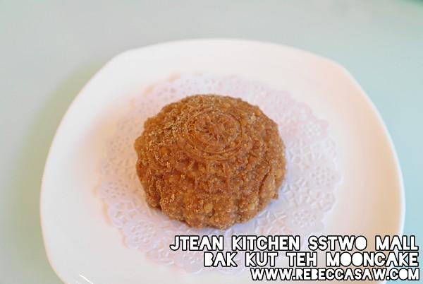 Jtean kitchen sstwomall - bak kut teh mooncake