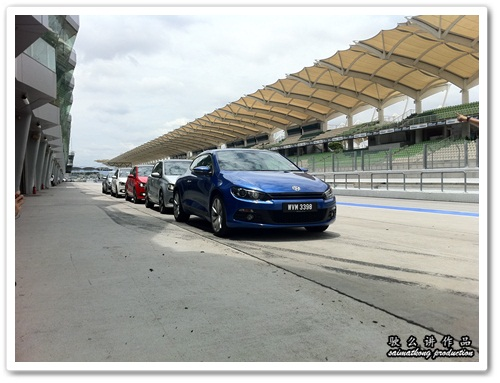 VW Scirocco R-Cup 2011 @ Sepang International Circuit