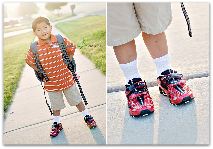 Back to school Diptych