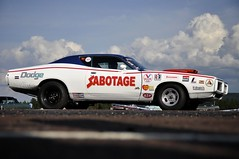 (MoStuff Sthlm) Tags: black car race vintage drag 1971 muscle scat 71 racing pack strip stuff dodge mopar fest sthlm dalarna 440 charger sabbath sabotage hustle nhra dragway orsa mopars mostuff bbody tallhed wwwmostuffsthlmcom