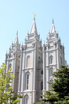Salt Lake City Temple 2011