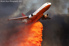 Hill Fire (Bernie Deyo Photography) Tags: hesperia brushfire wildlandfire hillfire