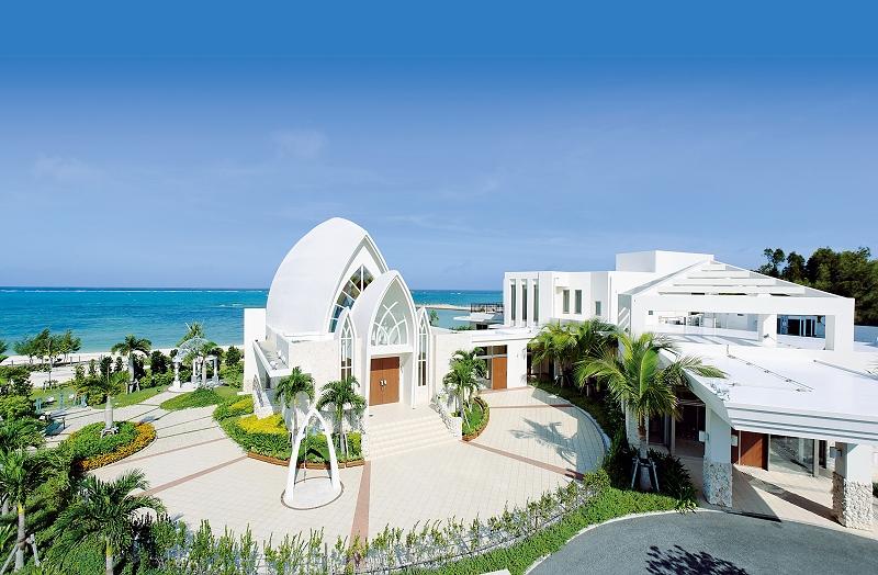 沖繩海外婚禮 艾葵雅教堂  Aquagrace Chapel