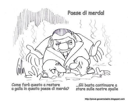"""Come soppravvivere in un """"Paese di merda"""" by Livio Bonino"""
