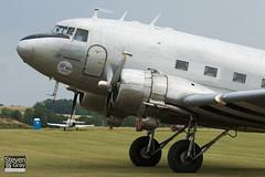 F-AZOX - 16604 33352 - Private - Douglas DC-3 C-47B-35-DK Dakota - 110710 - Duxford - Steven Gray - IMG_9315