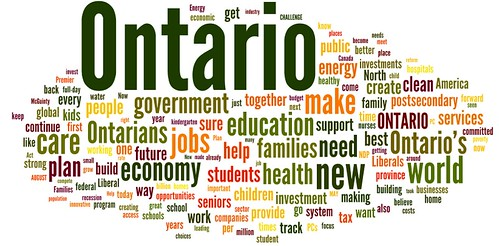 liberal party platform word cloud