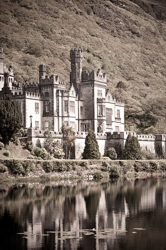 Kylemore Abbey old fashion