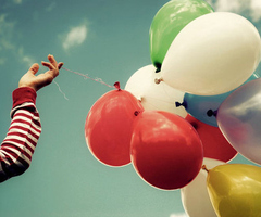 Life's too short, balloons, life, living, inspiration
