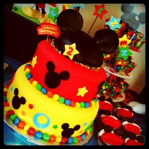 Ean's bday cake
