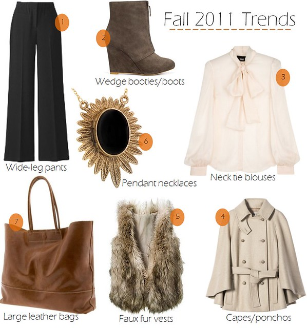 fall 2011 trends 9.7
