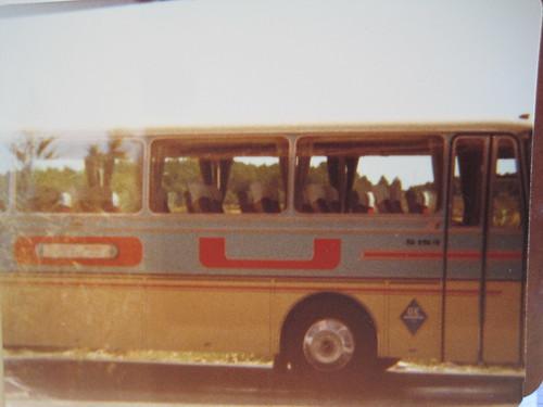 Autocar Setra de l'empresa Pou de Les Olives-Garrigoles.