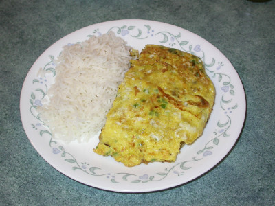 Akoori with Rice