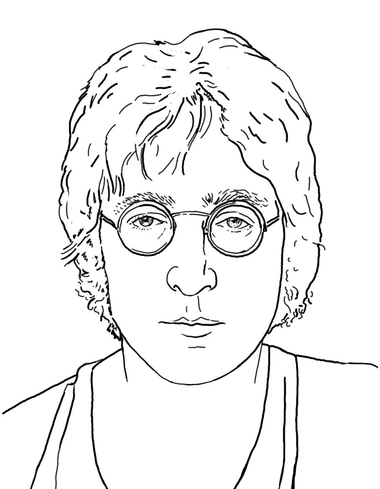 Line Drawing John Lennon : The world s best photos of johnlennon and retrato flickr