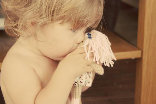 Enya y la muñequita