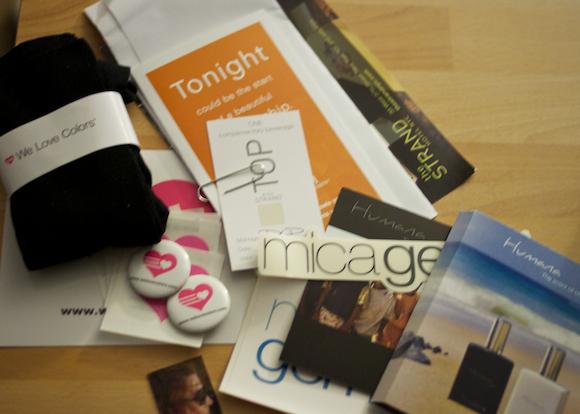 strandedblogger gift bag