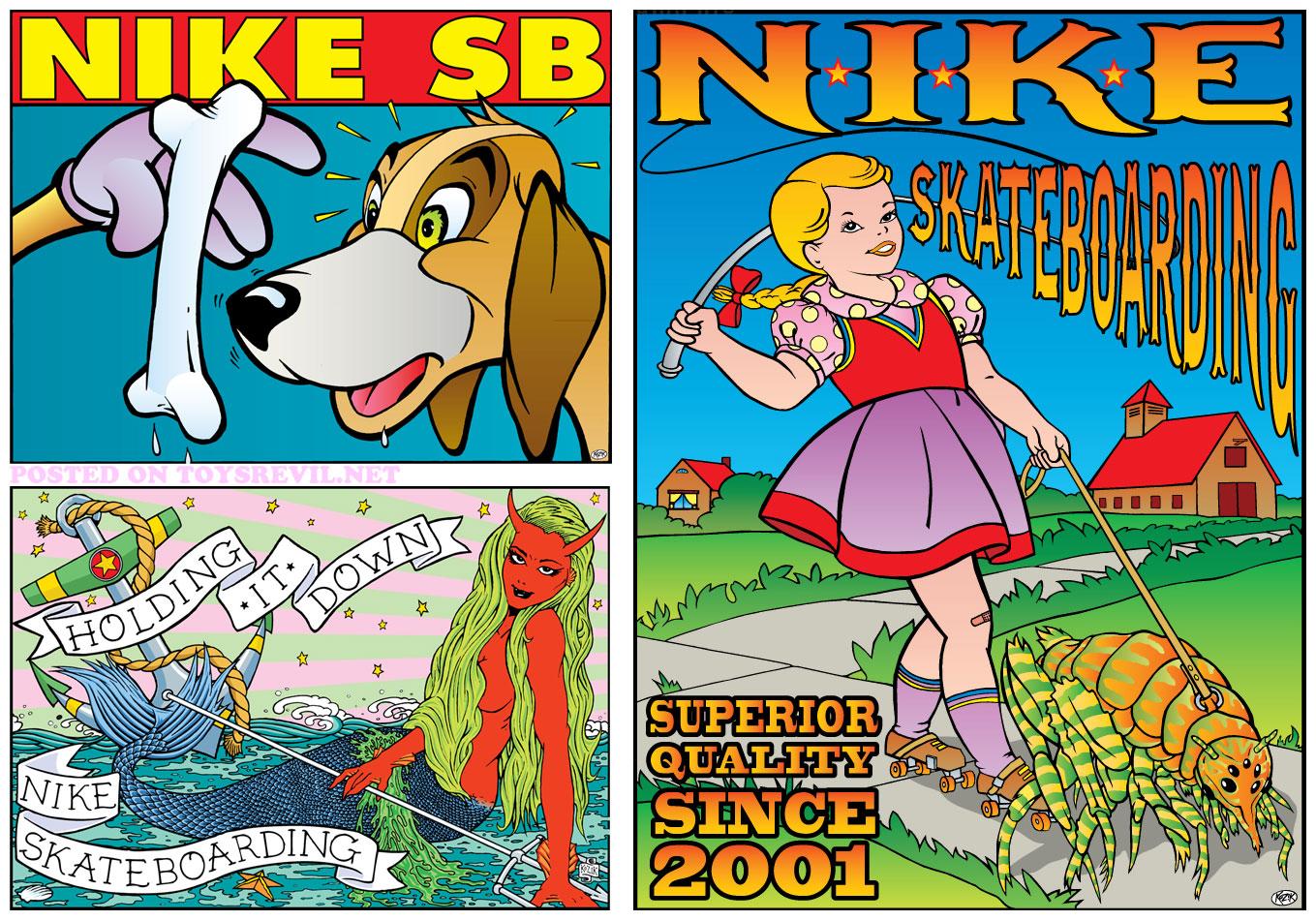 Frank Kozik x Nike SB