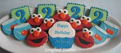 Brought to you by the number 2... (Songbird Sweets) Tags: birthday dorothy elmo sugarcookies 2ndbirthday songbirdsweets