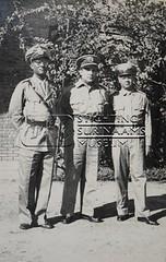 Groepsportret politiemannen