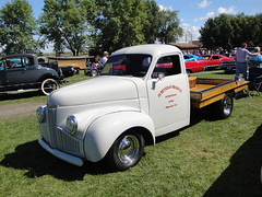 46 Studebaker Flatbed (Crown Star Images) Tags: show county cars car minnesota independent studebaker annual mn 3rd trolls kandiyohi sunburg