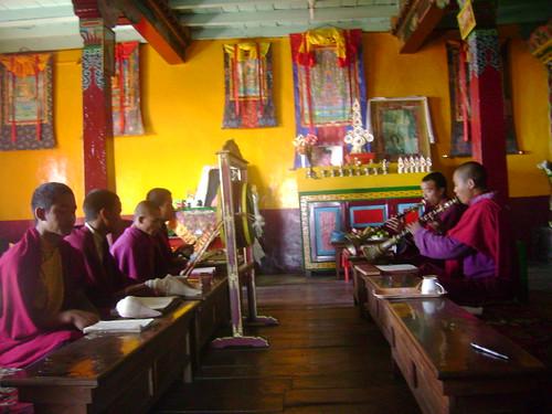 Buddhist monastary @ Chitrey (Nepal)