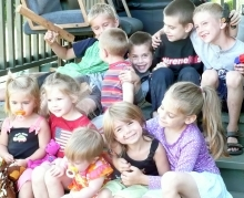 Burns kids and Lundberg cousins