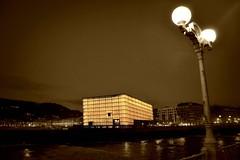 Kursaal II (xomorrotxoa) Tags: luz noche arquitectura edificios nikon sansebastian moneo euskalherria donostia kursaal gipuzkoa argia gaua