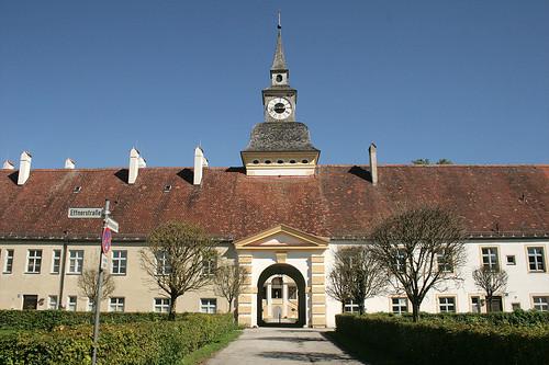 Uhrenturm - Altes Schloß Oberschleißheim