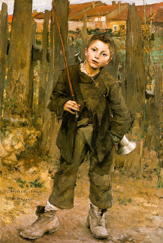 Jules Bastien-Lepage - Pas Meche (Nothing Doing), 1882 at the National Gallery of Scotland Edinburgh Scotland