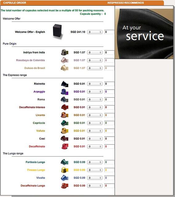 Capsules Pricing