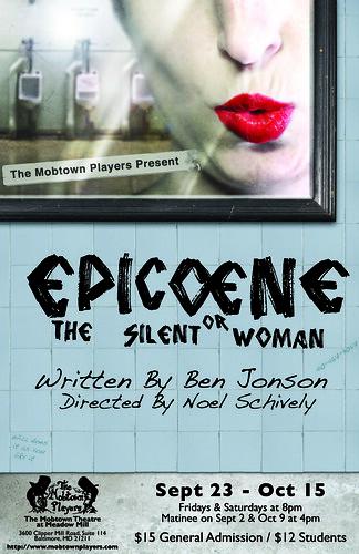 Epicoene poster