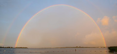 Double Full Rainbow on 9/11 (Jan van der Wolf) Tags: regenboog rainbow 911 doublerainbow regenbogen zeewolde nineeleven 11september wolderwijd fullrainbow dubbeleregenboog mygearandme volledigeregenboog