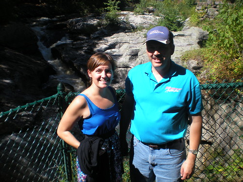 Diane Peacock and Million Mile Joe at Snow Falls: Maine