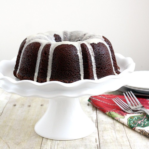 Mocha Rum Bundt Cake | Tracey's Culinary Adventures