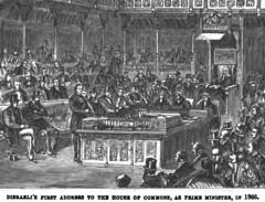 The American Magazine 1881 and Benjamin Disraeli - illustration  - 2