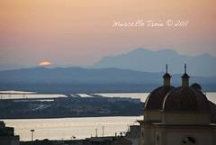 tramonto da santa croce (Marcello Trois) Tags: sardegna sunset nikon tramonto sardinia cagliari santanna casteddu virgiliocompany marcellotrois