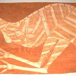 "<b>Emu</b><br/> Kurruedji ""Emu"" Painting, ca. 1950-1970 LFAC #2004:06:02<a href=""http://farm7.static.flickr.com/6195/6147156719_bd556243c7_o.jpg"" title=""High res"">∝</a>"