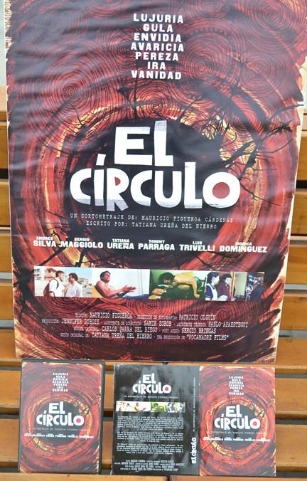 el círculo tapa y afiche