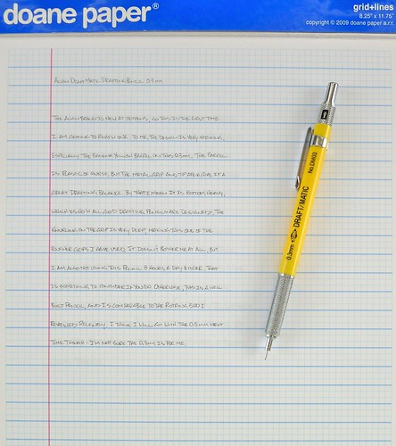 Alvin Draft-Matic Drafting Pencil - 0.3 mm