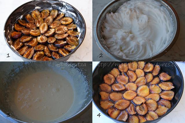 ricetta con foto preparazione torta alle susine o prugne