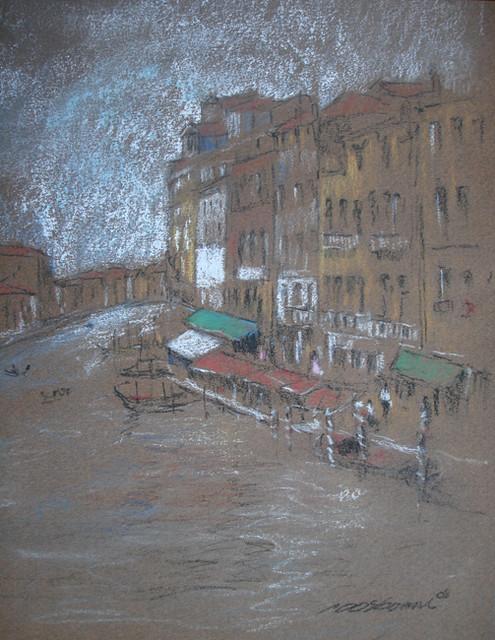 Venetian Study II  by Peter Osborne