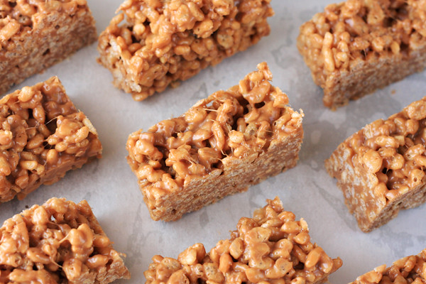 Nutty Rice Krispie Treats