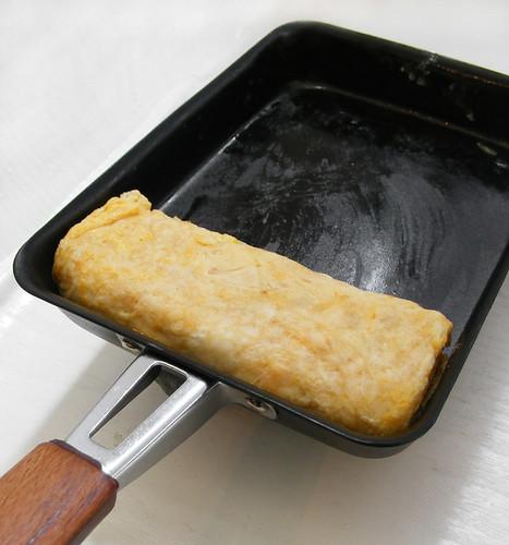 makiyakinabe, japanse koekenpan voor omelet