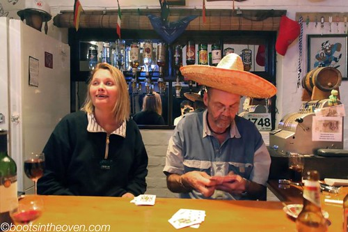 When they bust out the sombrero, you know good times are on the way.