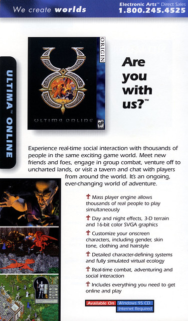 Ultima Online: Charter Edition: Ad from Catalog