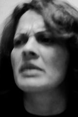 . (ajkpix) Tags: portrait blackandwhite bw woman film analog blackwhite nikon blackwhitephotos