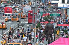 Times Square VIII (Fernando Zuleta) Tags: sunset ny newyork art landscape nikon flickr timessquare fz nuevayork panormica zuleta lagranmanzana flickraward nikonflickraward fernandozuleta nikonflickrawardgold