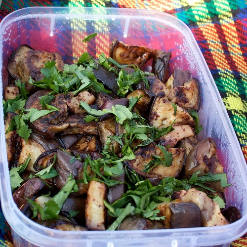 eggplant salad by emilly