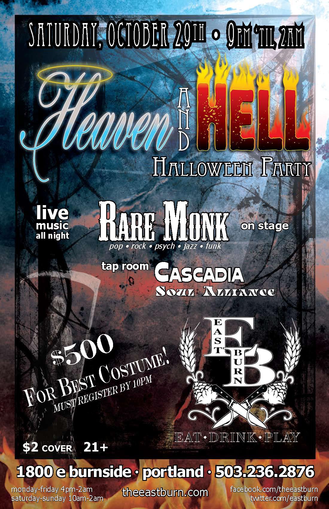 October 29: $500 Portland Halloween Costume Contest & Party @ East ...