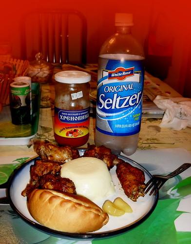 My dinner by feliks kogan