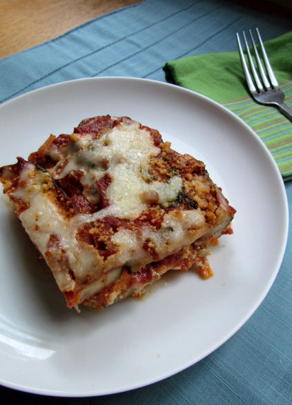 Zucchini Lasagna for Dinner